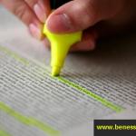 Come imparare a sottolineare bene un testo?